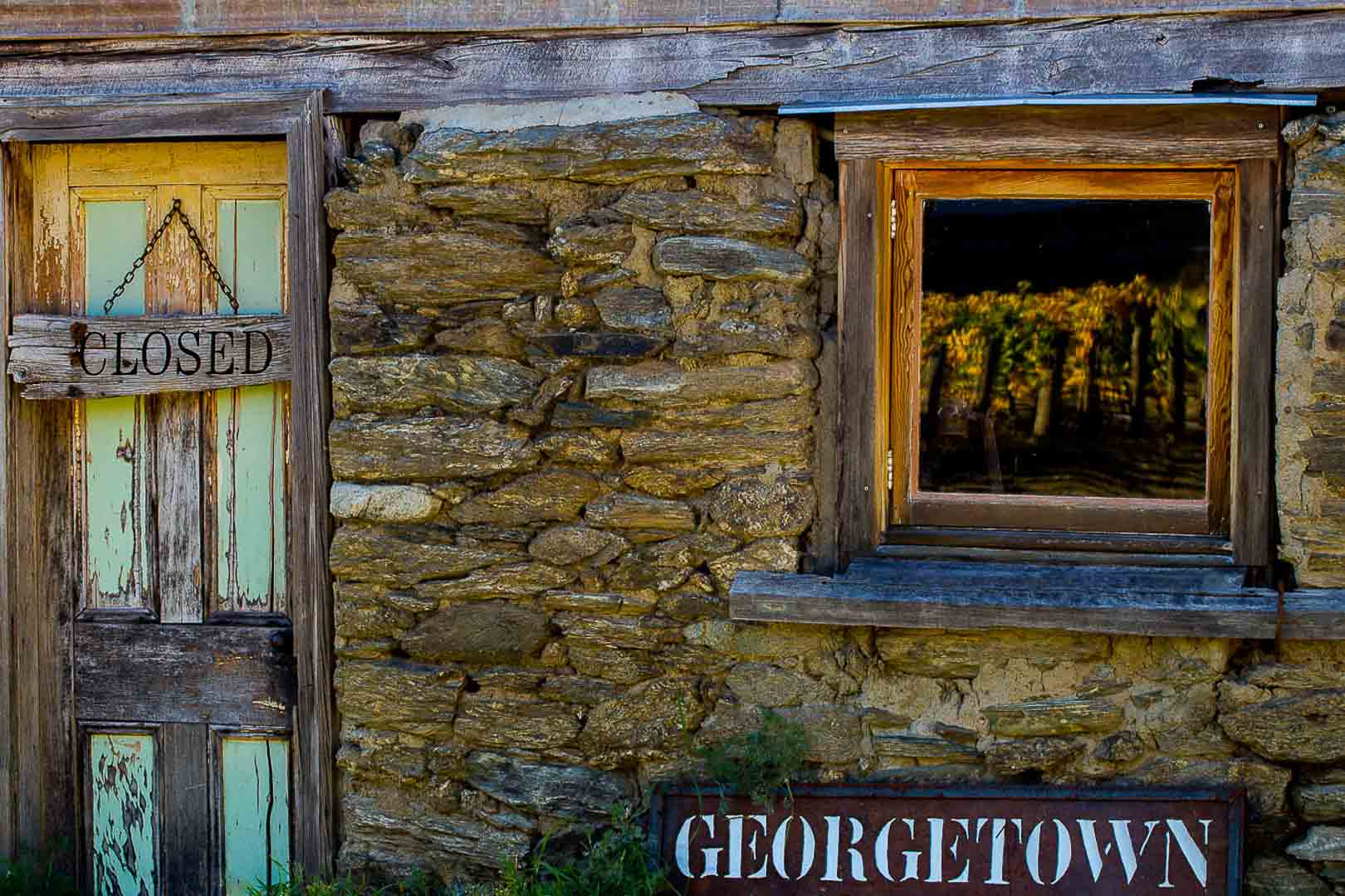 GeorgeTown Vineyard, Crowmell, Central Otago, New Zealand